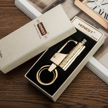 10pcs/lot matches kerosene lighter as smoking accessary encendedor key chain metal lighter Waterproof outdoor flint buckle(China)