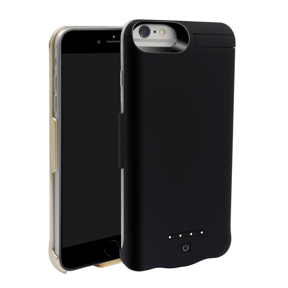 6000 10000mAh Battery Charger Case For iPhone 6 6s Plus Battery Charger Cases External Battery Pack Backup Power Bank (16)