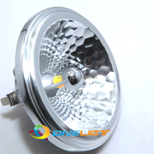 AR111 G53 GU10 LED Lamp 20W AC85-265V/DC12V Spotlight CREE COB Cylindrical ShapeLight Warm/Cool White Dimmable 3 Years Warranty(China)