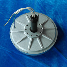PMG380 1kw 180RPM vertical axis wind turbine disc coreless Low RPM start wind speed Three Phase PMG Permanent Magnet Generator