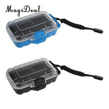 MagiDeal 1Pc Plastic Dry Box Waterproof Seal Survival Case Storage Container Carry Box Shockproof Camping Boating Water Sports