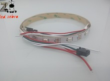 4m 5m ws2812b 30led/m led strip and 14keys 2048pixel led rgb controller,300 kinds of changes for ws2812 dc 5v(China)
