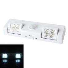 High Quality High Quality 8 LED PIR Motion Activated Cordless Sensor Light Lamp Patio Wall Shed House