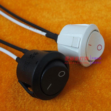 5PCS High Quality Bedside lamp wall lamp lamp thumb round button switch ON/OFF rocker switch, lighting accessories