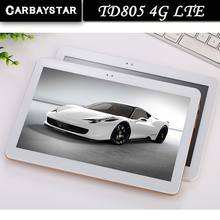 New 4G LTE CARBAYSTAR TD805 10.1 inch Ram 4GB Rom 64GB Octa Core MT8752 Android 6.0 computer android Smart Tablet PC,Tablet pcs