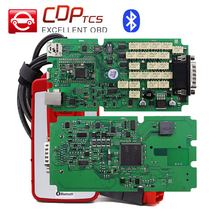 High quality A+ VVOVV  S.N0per Single green board With bluetooth better than cdp tcs pro plus OBD2 dignostic tool OBDII scanner
