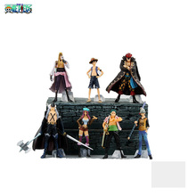 9.5-12cm 7PCS/lot PVC Japanese classic anime figure one piece action figure set collectible model toys for boys(China)