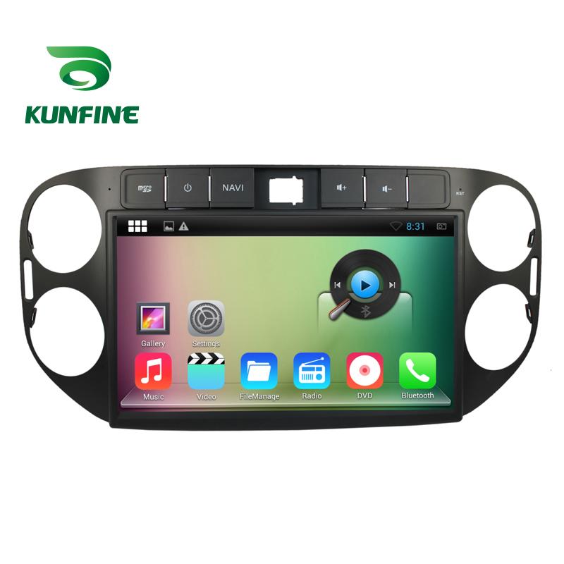 10.1 inch Car Stereo DVD Player GPS Navigation  for Tiguan 2013-2014 Radio Black Color 1