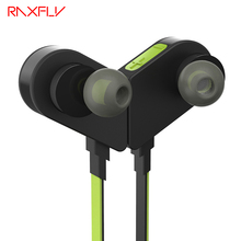 RAXFLY M5 Magnetic Sport Running Earphone In Ear For iPhone For Samsung Universal Wireless Bluetooth 4.1 Hifi Stereo Microphone
