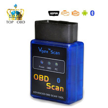 Factory Price Promotion price New MINI Vgate V 2.1 ELM 327 Bluetooth Vgate Scan OBD2 / OBDII ELM327 V2.1 Code Scanner BT adapter
