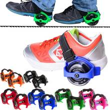 Scooter Wheels Outdoor Sports Roller Skates Adjustable Shoes Rollerblading Outdoor Children's Flash Roller Skates @Z238