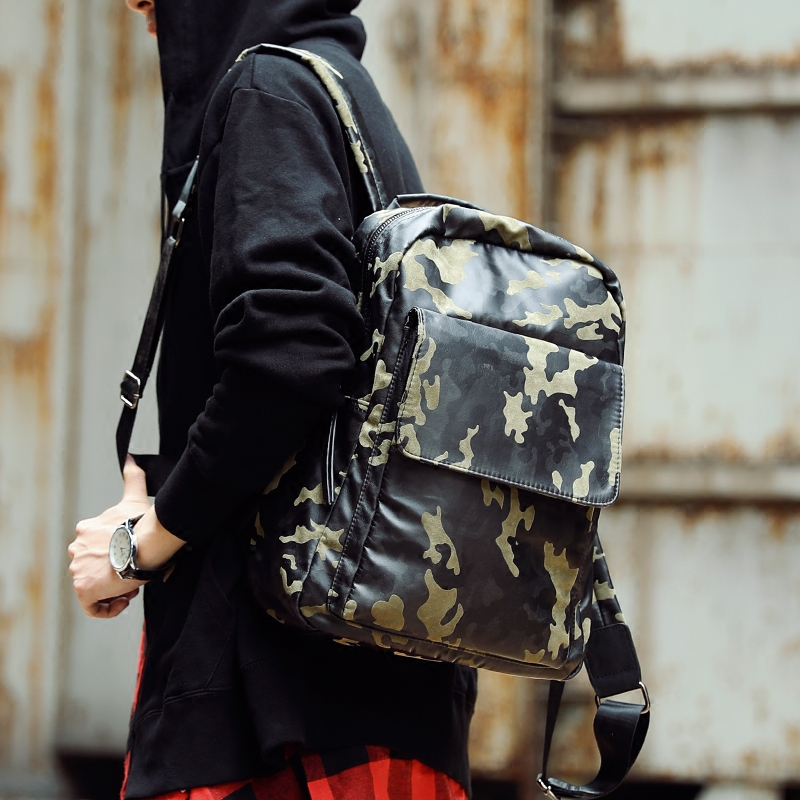 Tidog The new camouflage backpack fashion backpack<br>