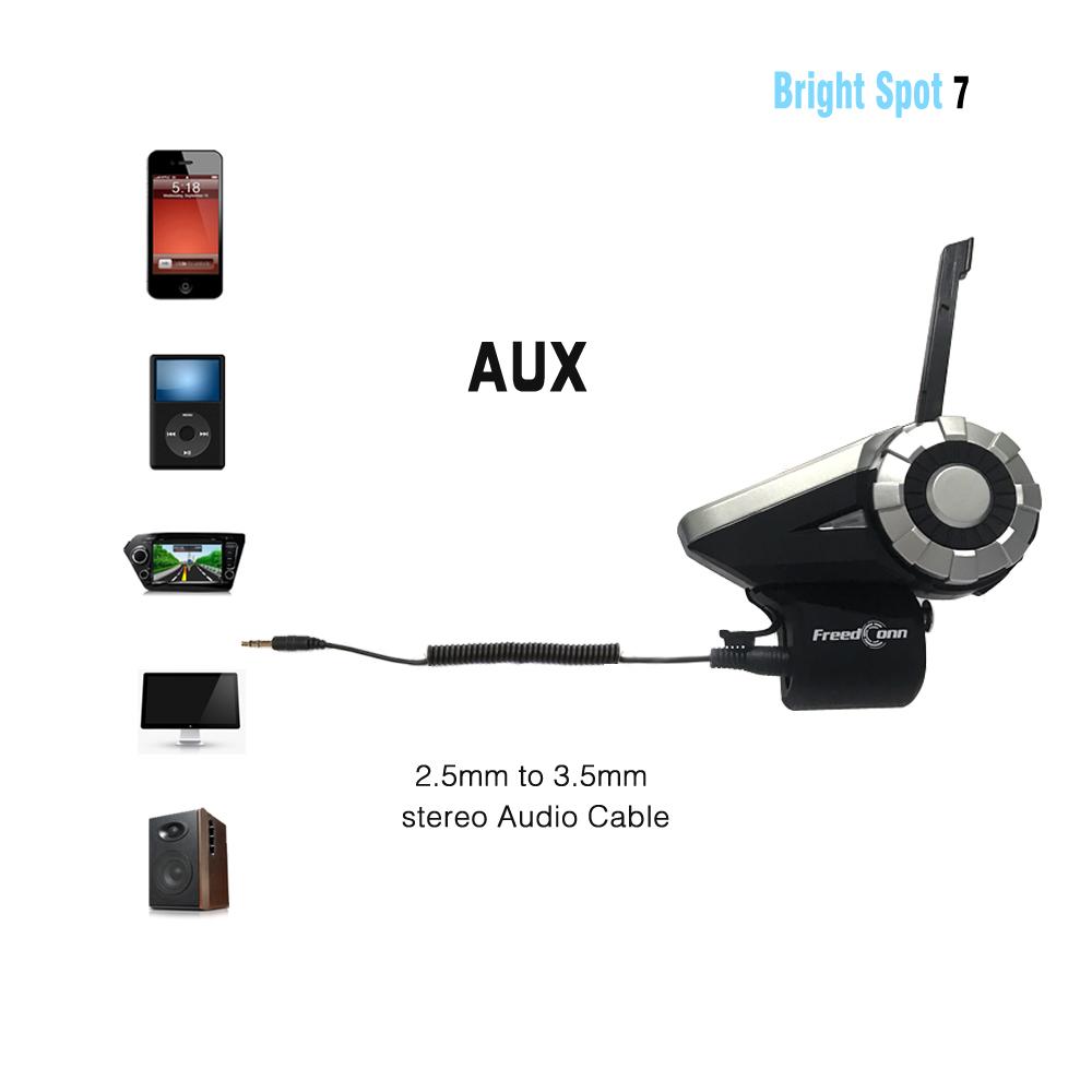 Waterproof Helmet Intercom Bluetooth (3)
