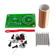15W Mini Tesla Coil Plasma Speaker Kit Music Wireless Transmission Board Module DC 15-24V For DIY(China)