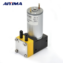 AIYIMA 1pcs Mini Air Pump DC12V 50Kpa DC Micro Vacuum Pumps Air Sampling Liquid Pumpper Vacuumpomp(China)