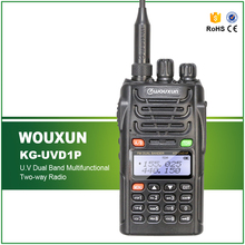 New Arrival 100% Original 5W Dual Band IP-55 Waterproof Professional FM Transceiver WOUXUN KG-UVD1P