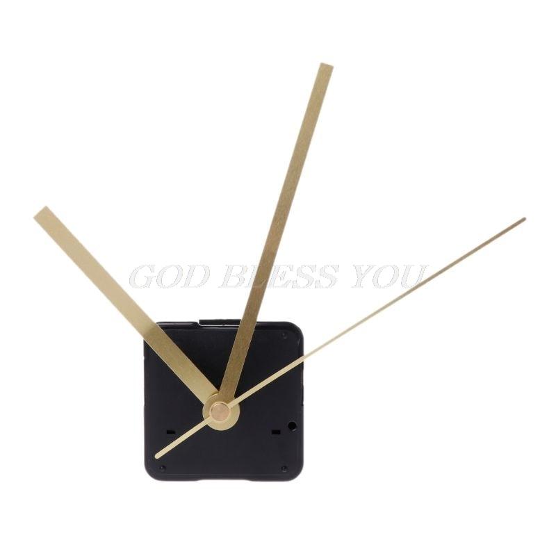 "Make or Repair a Clock with 9/"" Hands Silent Sweep High Torque Quartz Motor"