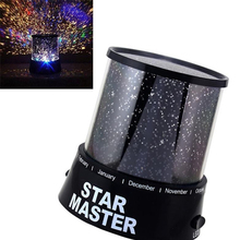 Order Romantic Projection Lamp LED Night Light Love Gift lamps Cosmos Star Beauty Sky Master Dreamlike Colorful night light(China)