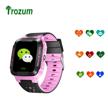 Smart Baby Watch phone Y21 Kids watches 2G GSM GPRS GPS Locator Tracker Anti-Lost Smartwatch gift for children child guide(China)