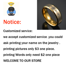 Hot Sale Business Personalized service Customer Design And Printing Service On Jewelry With Low Price(China)