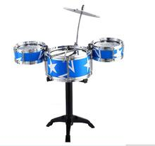 WXFTDMULIUFENNew Fun Mini Jazz Drum Toy Kids Early Educational Musical Instrument Toy Percussion Drum Baby Home Game Music Toy