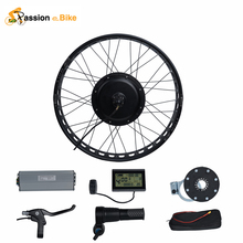 "Pasion Ebike 48V 1000W Electric Bicycle Fat Bike Conversion Kit  26"" Wheel Motor for 175mm or 190mm Hub Motor"