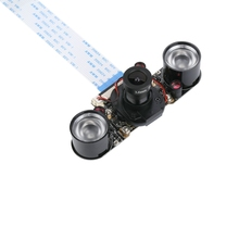 Unistorm Raspberry Pi IR-CUT Camera Night Vision NOIR 5 MP OV5647 Sensor automatically switch at day and night