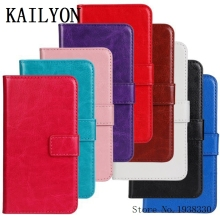KAILYON For sony xperia z2 Case Luxury Flip Wallet Stand PU Leather For Xperia Z2 L50W D6503 D6502 Cover Cases Bag With Card Hol(China)