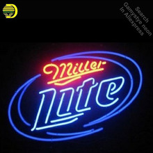 Outdoor neon lights promotion shop for promotional outdoor neon miller lite neon sign neon bulb sign neon lights for beer pub sign glass tube handcraft iconic display light up signs signage mozeypictures Gallery
