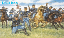 Out of print product! Italeri model 6013 1/72 Union Cavalry plastic model