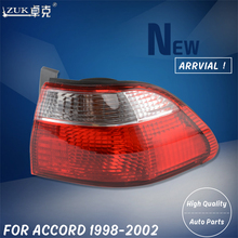ZUK New Left Right Outside Tail Light Tail Lamp For HONDA ACCORD 1998 1999 2000 2001 2002 CF9 CG1 CG5 Rear Lamp Brake Light(China)