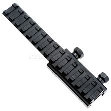 20mm Tactical Picatinny Weaver Rail Scope Extension D0026 QD Long Riser Mounts Base Adapter Converter For Hunting Skirmish Play