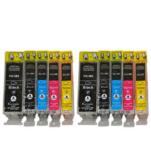 2015 New [Hisaint] 10 PK PGI 5 CLI 8 INK FOR CANON PIXMA IP 4200 4300 4500 5200 5300 6600 6700D