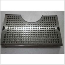 "3"" Column Cut-Out Surface Mount Drip Tray No Drain 2""L x 7""W x 3/4""H, SS304 Beer Drip Tray Kegging Equipment Homebrew(China)"