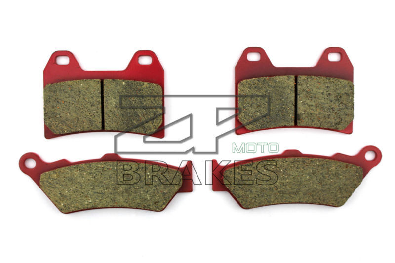 Ceramic Brake Pads Front &amp; Rear For VICTORY Vegas Jackpot 2006-2007 OEM New High Quality ZPMOTO<br>