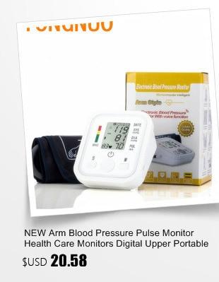 Digital Upper Arm Blood Pressure Pulse Monitor Household tonometer Portable Health Care Meter Sphygmomanometer medical equipment 20