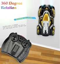 RC Climing Car  4CH Drift With Light 2016 New Running On The Wall 6608B