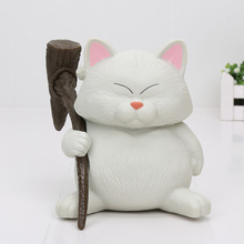14cm Japanese Anime Cat Karin Dragon Ball Z Mini PVC Action Collection Figure Toy For Kids