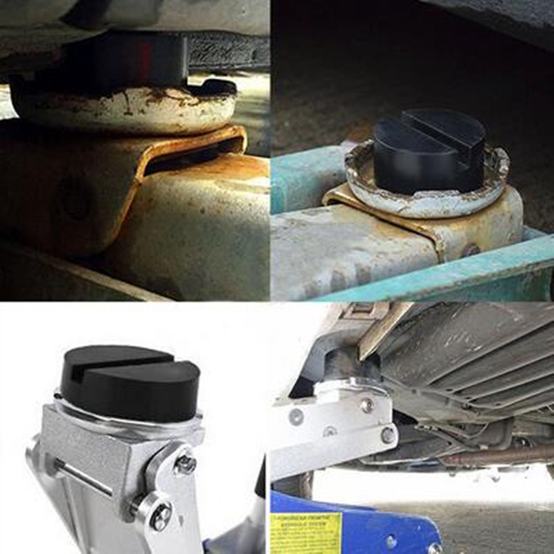 Universal Sca Jack : Universal car floor jack disk pad adapter for pinch weld