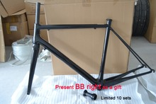 carbon fiber bike/ bicycle frameset T800 carbon road frame 48/51/54mm with UD finish in stock, 2 years warranty FM-R871