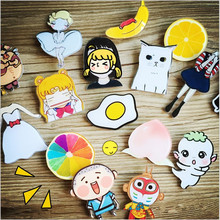 Icon Free Shipping Kawaii Animal Badge Harajuku Acrylic Pin Badges Cartoon Backpack Pins Icons