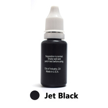Professional Tattoo Ink Microblading Permanent Makeup Micro Pigment for Eyebrow Lip Eyeliner 1/2 oz 15ML Jet Black 1Piece