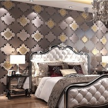 beibehang curve Modern Pattern Wallpaper papel de parede 3d Mural Wall Decals Non-woven Bedroom Wallpapers Sofa Wall Paper
