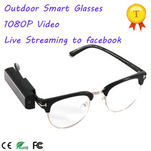 1080P Smart Glasses WIFI Connect with Smart Phone APP Compatible to IOS and Android Phones Camera Glasses for Outdoor Lover(China)