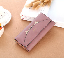 Fashion Envelope Women Wallet Cute Cate Style Printing PU Leather Wallet Long Ladies Clutch Coin Purse Lovely Female Wallets