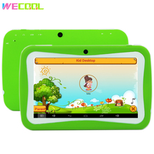 WeCool K7 Kids Tablet PC 7 Inch Android 5.1 Quad Core 8GB 1024x600 HD Screen Children Education Games BabyPAD Birthday Gift