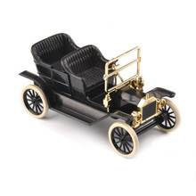 1/43 Scale 1923 Ford T Model Alloy Diecast Car Convertible Vehicles Model Toys for Collections