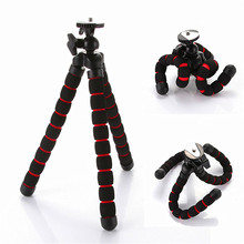 Flexible Tripod for GoPro HERO Cameras Gorillapod Type Monopod Flexible Tripod Leg Mini Tripods for Digital Camera Holder T35(China)