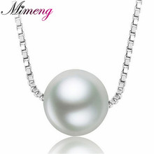 100% 925 sterling silver necklaces & pendants Ball r necklace for women top quality!! Christmas Gift FREE SHIPPING