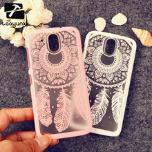 Rubberized Painted Dream Catcher mobile phone skin case Cover For HTC Desire 526 526G+ 326 326G case Flower Pattern phone shell